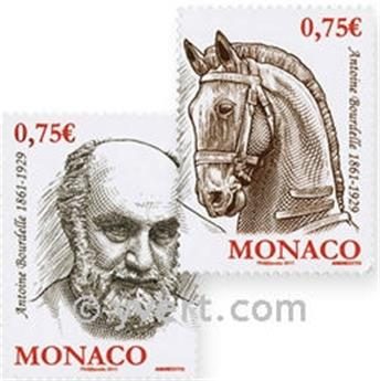 n° 2769/2770 -  Selo Mónaco Correios