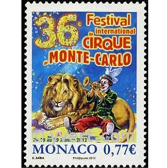 n° 2808 -  Timbre Monaco Poste