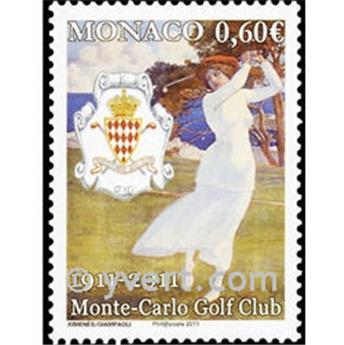 n.o 2793 -  Sello Mónaco Correos