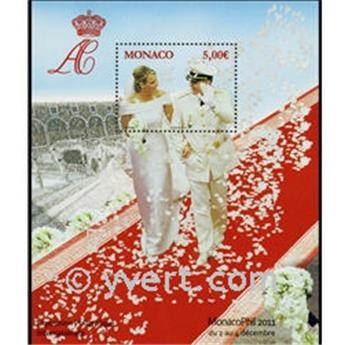 n° 2805 (BF 101) -  Timbre Monaco Poste