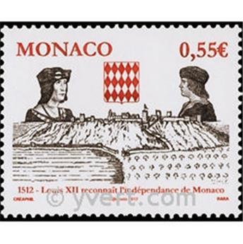 n° 2819 -  Timbre Monaco Poste