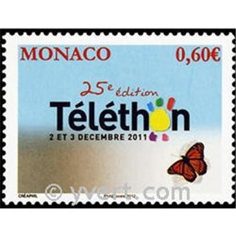 n° 2807 -  Timbre Monaco Poste
