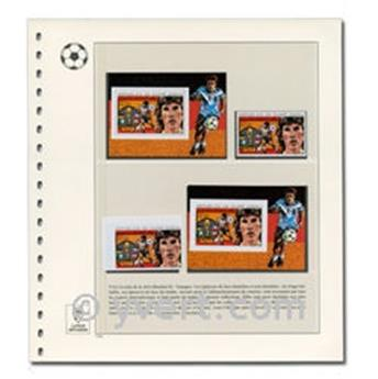 Collection of STAMPS (SOCCER)