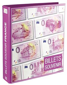 Reliure BILLETS €URO SOUVENIR FRANCE SAFE