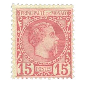 n°5* - Selo Monaco Correio