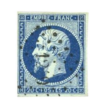 n°14Ad obl. TB - Sello Francia Correos