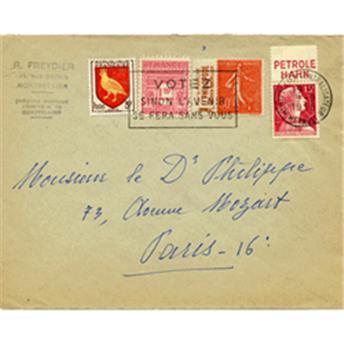 n°199 obl. - Stamp France  Mail